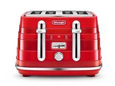 De'Longhi Avvolta CTA4003.R Wrap-around Design Toaster - Red
