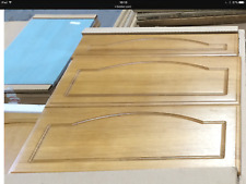 Quality Solid Oak Kitchen Cabinet  x 3 draw pan fronts set 600 x 715