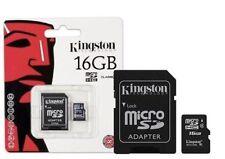 Kingston Micro SD 16GB SDHC Samsung Memory Card Microsd TF Mobile Phone Class 4