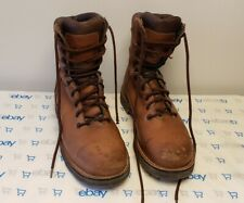 "Danner Workman GTX 8"" Brown AT Leather GORE-TEX Work Boots 16005 Vibram Sole"
