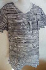 SO 17 - Camiseta, GRIS-NEGRO de rayas V. García b73608 T.gr.140-164
