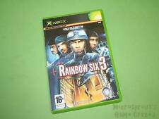 Tom Clancy's Rainbow Six 3 Microsoft Xbox (Original) Juego-UBISOFT