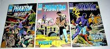 PHANTOM THE GHOST WHO WALKS #5 #6 and #7  DC COMICS 1989