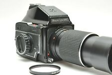 Mamiya M645 Medium Format Film Camera w/ SEKOR C 210mm f/4 Lens