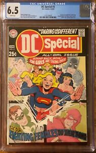 DC Special #3 CGC 6.5 (Prev Unpublished GA Wonder Woman & Black Canary Stories)