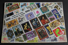 Vintage Lot of 1000 Stamps Of The World All Different All Genuine