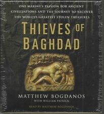 Thieves of Baghdad by Matthew Bogdanos New Sealed Audiobook 5 Discs
