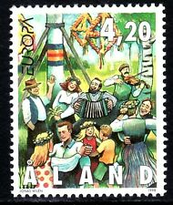 SELLOS TEMA EUROPA 1998 ALAND FIESTAS POPULARES.MUSICA 141 1v.