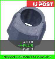 Fits NISSAN ELGRAND E51 Rear Stabilizer Bush 25mm Sway Bar