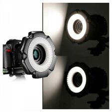 Neewer 160 Pcs 5600K 10W Mini LED Macro Ring Light Adapter Rings Japan Tracking