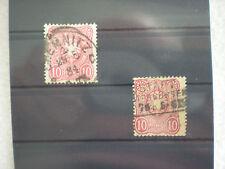 Deutsches Reich  - Preussen  2  x  10 Pfennig   Adler