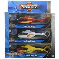 Teamsterz Toy Helicopter With Lights & Sounds Asstd Colours 1 Supplied @ Random
