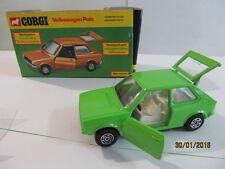 Corgi 289 Volkswagon Polo Mint Condition - Opening Doors & Boot- Original Boxed