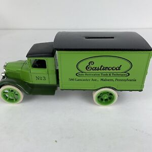 ERTL 2985 LOCKING METAL BANK 1931 DELIVERY TRUCK EASTWOODS NO 3 IN BOX NEW