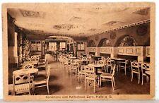 Postkarte 1925 - HAALE a.d. Saale - Konditorei und Kaffeehaus Zorn
