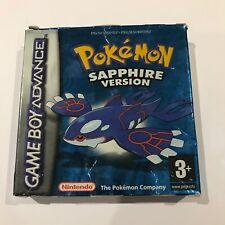Pokémon Sapphire Version - Nintendo Game Boy Advance - Boxed GameBoy Saphire