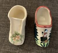 Shoe & Bootie Figurines, Maria Of California Bootie, Hand painted Clog