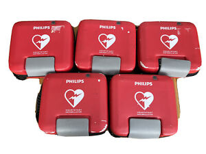 Phillips Heartstart FR3 ECG AED with QCPR monitor / in date pads, battery & case