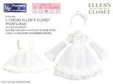 Azone Picconeemo Picco D Ellen Closet Alice Dress Set Blanco 1/12 Fashion Doll
