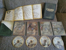 EL SEÑOR DE LOS ANILLOS LA COMUNIDAD DEL ANILLO - VERSION EXTENDIDA 4 X DVD