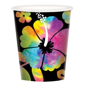 Neon Paradise Luau Summer Party Supplies