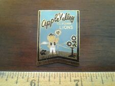 LIONS CLUB COLLECTORS PIN - APPLE VALLEY CALIFORNIA LIONS
