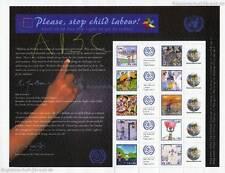 UN Geneva - 2010 grussmarken Arc against child labour 725-34 - S 39