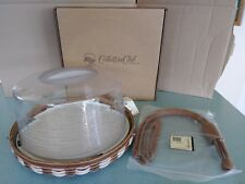 Longaberger Collector's Club Family Together Celebrate Basket set Cupcake - New