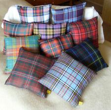 Kleines schottisches Tartan Kissen Größe (25 x 25 cm)