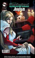 Grimm Fairy Tales Presents Wonderland: Asylum #1 Variant C Zenescope 2013 VF/NM