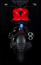 Ducati Monster 821 Rear Splash Guard Fenders Swing arm with License plate holder