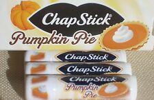 PUMPKIN PIE CHAPSTICK / Lip Balm - Limited Edition - BRAND NEW - Set of 3!