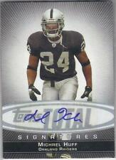 2006 Topps Total Signatures  MICHAEL HUFF OAKLAND RAIDERS #TS-MH