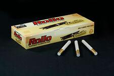 500 NEW VANILLA FLAVORED ROLLO TUBE Cigarette Tobacco Rolling Roller Filter