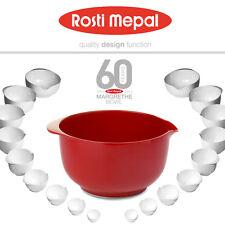 Rosti Mepal - Margrethe Rührschüssel - luna rot - 5 L