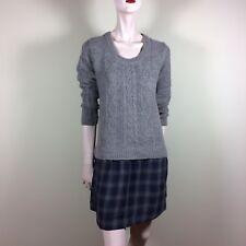 COMPTOIR DES COTONNIERS robe femme M L 38 40 Marron Laine Pull Casual Style
