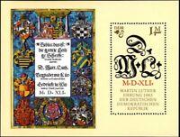 [CF4241] RDA 1983, HB V Cent. del nacimiento de Martin Luther (MNH)