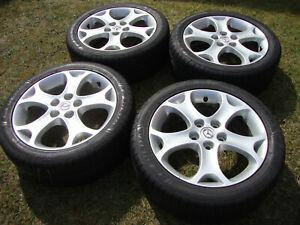 4 x Mazda 5 CR Alufelgen 205/50/R17 93W XL 9965126570 6.5Jx17 ET52,5 5x114,3