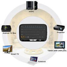 H18 Wireless Touchpad Keyboard for Android ROKU 2 GOOGLE HTPC IPTV PS3 Raspberry