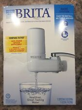 Brita On Tap Faucet Water Filter Basic System White