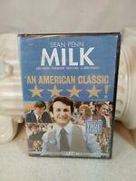 MILK - DVD starring Sean Penn - NEW/SEALED