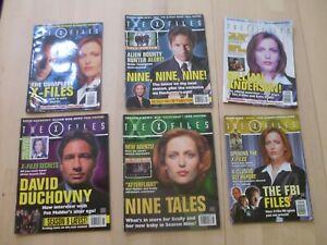 X-Files Titan Magazines - 6 Issues (2001 -2002)