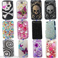 BLING SPARKLE LUXURY DIAMANTE DIAMOND CASE COVER 4 BLACKBERRY TORCH 9800 9810 UK