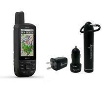 Garmin GPSMAP 66s Multisatellite Handheld GPS Unit w/ Sensors Wearable4U Bundle
