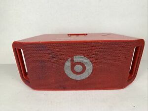 Dr. Dre Beats Beatbox Portable Speaker (power cable Not included!) - Red