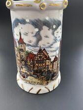 German Beer Mug from RothenburgPuzzle Mug, Excellent Condition, Porcelain
