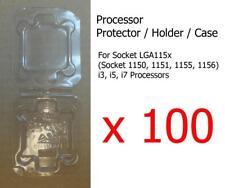 100x Socket 1150 1151 1155 1156 i3, i5 & i7 Processor CPU Cover Holder Protector