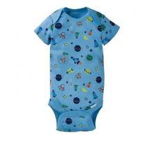 Gerber Baby Boy 1-Piece Blue Space Theme Onesie Size 3-6M