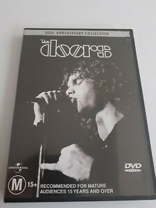 THE DOORS  DVD - 30TH ANNIVERSARY  COLLECTION (2001  REGION 4 AUS)  $10