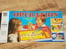 VINTAGE OPERATION BOARD GAME RARE 1982